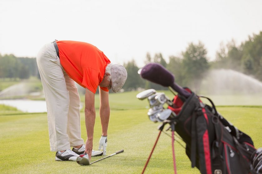 Playing Golf to Ease Your Work Stress
